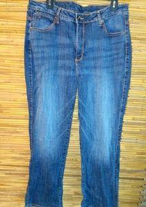 Aura Jeans Sz 16 Short
